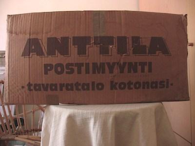 Anttila postimyynti-muuttolaatikko