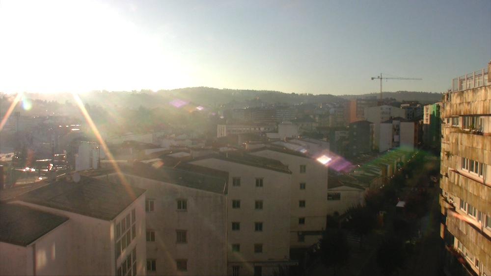 Maisemaa läheltä Pontevedran keskustaa, entisen asunnon lähettyviltä.