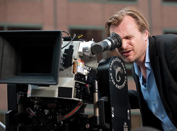 Christopher Nolan & Imax-kamera
